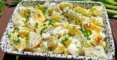 Sałatka ziemniaczana (idealna do dań z grilla) - Pieprzyć z fantazją Potato Salad, Grilling, Bbq, Potatoes, Cooking, Ethnic Recipes, Food, Barbecue, Kitchen