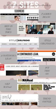 7 sites de moda masculina