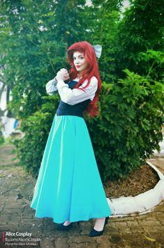 Ariel cosplay - The Little Mermaid by LiliRochefort87.deviantart.com on @DeviantArt