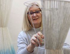 In this short film, Jane Withers shows us how she makes her mesmerising knitted lampshades