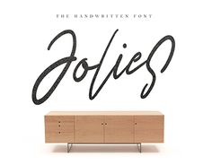 "Check out new work on my @Behance portfolio: ""Jolies Typeface"" http://be.net/gallery/50243031/Jolies-Typeface"
