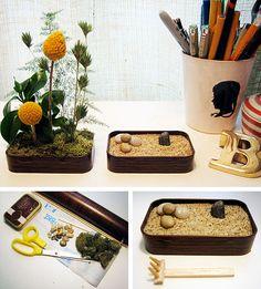 Kate Pruitt shows us how to make a D.I.Y. Altoid tin garden. Zen Rake Nano FTW.