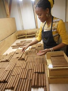Cuban Cigars. Cómo me gustan las negritas!!!