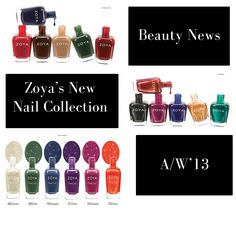 We love Zoya's new nail collection! Amazing colours for A/W '13! We think the Pixiedust ones are up there will out all time favourites! www.groomedandglossy.com #groomedandglossy #beauty #trend #nailart #nails