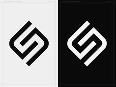 SN Monogram - Personal Logo Concept by Sakari Niittymaa S Logo Design, Fashion Logo Design, Web Design, Identity Design, Brand Identity, Self Branding, Logo Branding, Corporate Branding, Monogram Logo