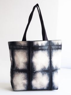Midnight Tote, 2014, Cook & Gates, cotton canvas, 15 x 18 x 5 in., 23 in. handle, Brooklyn, NY, USA.