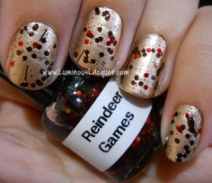 Kawaii Nail Lacquer Reindeer Game