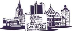 Startup Weekend Paderborn – In 54 Stunden von der Idee zur Gründung - PRESSEMITTEILUNG No talk, all action – so lautet das Motto des ersten Startup Weekends vom 08. bis 10. Mai in Paderborn. Das Startup Weekend ist ein Tummelplatz für Gründer und solche, die es werden wollen. Mit Veranstaltungen in 125 Ländern ist das Startup Weekend ein weltweites Vera...