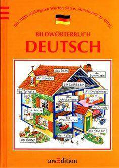 Title Slide of Bildwörterbuch deutsch