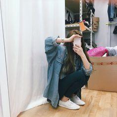 Korean Fashion – How to Dress up Korean Style – Designer Fashion Tips Ulzzang Girl Selca, Korean Ulzzang, Korean Girl, Asian Girl, Asian Fashion, Teen Fashion, Fashion Outfits, Fashion Tips, Fashion Design