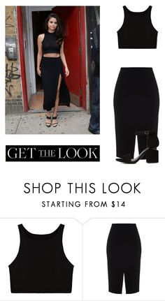 """Get The Look: Selena Gomez"" by idakotajohnson14 on Polyvore featuring moda i Alexander Wang"