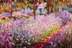 """Jardin De Giverny"" - Monet"