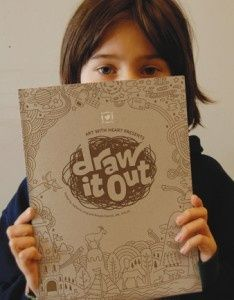 Draw It Out: Activity book from Art With Heart for children experiencing grief and loss