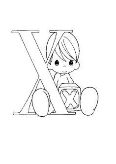 Lernübungen für kinder zu drucken. Infant Alphabete 161