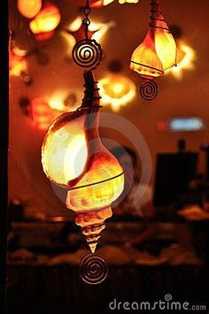 Seashell Lamps Royalty Free Stock Images - Image: 16679879 ♪ ♪ ... #inspiration #diy GB http://www.pinterest.com/gigibrazil/boards/:
