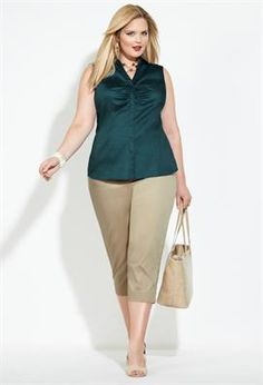 Nice and simple. 9 to Fabulous   Plus Size Outfits   Avenue