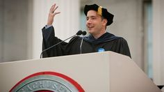 Who couldn't use a shot of inspiration and wisdom at graduation -- or all the time? These eight business leaders brought some serious game to their commencement speeches.