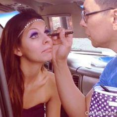 Eyeliner with Isaac Meyers Celebrity Makeup, Eyeliner, Celebrities, Artist, Beauty, Celebs, Artists, Eye Liner, Beauty Illustration