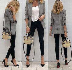Outfits mujer, office outfits, business casual outfits, business fashion, b Summer Work Outfits, Casual Work Outfits, Business Casual Outfits, Mode Outfits, Classy Outfits, Fashion Outfits, Stylish Outfits, Business Fashion, Sexy Work Outfit