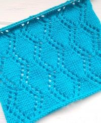 Lace Knitting Patterns, Knitting Stitches, Free Knitting, Stitch Patterns, Sts 1, Knit Crochet, Baby Blankets, Squares, Projects