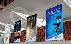 Banners promocionais para eventos. Cliente: Ammyuniki