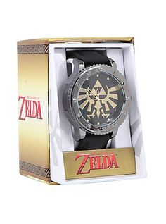 The Legend Of Zelda Triforce Rubber Strap Watch,