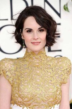 Short Pixie Hairstyle for Wavy Thick Hair