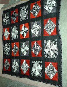 Black and White Quilt I made