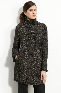 The more I look at this Steve Madden coat the more I like it!!