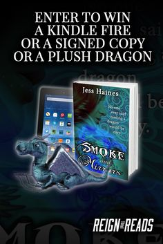 Win a Kindle Fire, a Signed Paperback & a Plush Dragon from Bestselling Author Jess Haines