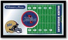 Tulsa Golden Hurricane Football Team Sports Mirror at SportsFansPlus.com. Visit website for details!