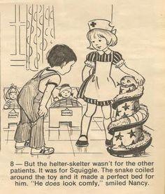 I loved Nurse Nancy from Twinkle magazine (circa 72)
