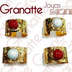 #anillos #perla #goldfilles #perlas #perlaShell #joyas #accesorios #granatte #mujer