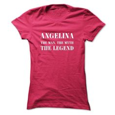 ANGELINA, the man, the myth, the legend - #baby gift #husband gift. MORE INFO => https://www.sunfrog.com/Names/ANGELINA-the-man-the-myth-the-legend-skuvejbxne-Ladies.html?id=60505
