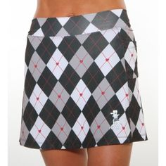 black argyle golf skirt. It's about more than golfing,  boating,  and beaches;  it's about a lifestyle  KW  http://pamelakemper.com/area-fun-blog.html?m