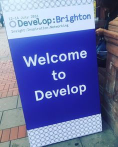 It's been a great few days at Develop in Brighton! Lots of friendly faces and new software to try! #VR #Games #Brighton #Develop #DevelopBrighton #DevelopConf