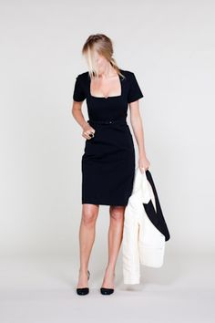 LBD ~ note to self, need a lbd w/ jacket ensemble !