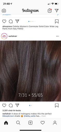 Hair Color Wheel, Red Hair Color, Hair Color Swatches, Hair Color Formulas, Hair Color Techniques, Hair Care Tips, Brunette Hair, Hair Hacks, Hair Makeup