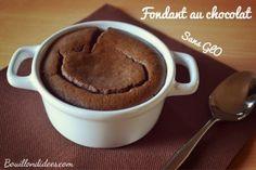 fondant au chocolat sans GLO (gluten, lait plv, oeuf), tofu soyeux