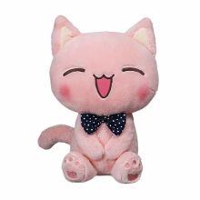 Girls Love Cozy Pink Laughing Cat Plushie Toys 2015