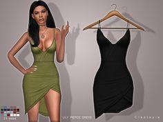 Cleotopia's Set67- LILY PIERCE dress