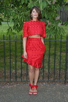 todas las fotos de celebrities en la fiesta de la serpentine gallery en londres: Gemma Arterton