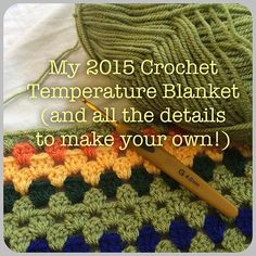 No automatic alt text available. Crochet Fabric, Knit Or Crochet, Crochet Hooks, Crotchet, Afghan Crochet Patterns, Crochet Stitches, Crochet Afghans, Temperature Afghan, Temperature Chart