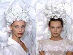 {work of art: paper-flower tiaras} :: This is Glamorous