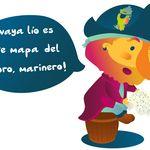 c1apirata_todo_color_1-01 Tweety, Winnie The Pooh, Disney Characters, Fictional Characters, Illustration, Kids, Color, Art, Treasure Maps