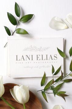 Lani Elias Fine Art Photography logo by Ashley Nicole