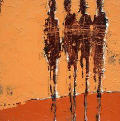 Svetlana Shalygina at Mirada Fine Art, Reunion, Mixed Media on Canvas, x Mixed Media Canvas, Mixed Media Art, Figure Painting, Painting & Drawing, Creative Connections, Examples Of Art, Africa Art, Abstract Art, Abstract Paintings