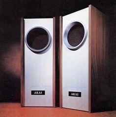 Image result for akai sw 42 Audio Design, Speaker Design, Sound Speaker, Audio Speakers, Bookshelf Speakers, Audiophile, House Front, Horns, Audio Books
