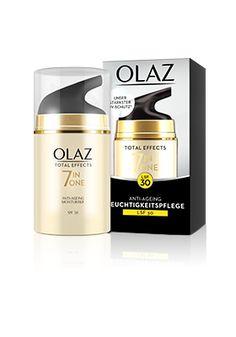 Gratisproben von Olaz Total Feuchtigkeitscreme gewinnen. Mit etwas Glück können Sie eine von 50 Tagescremes Zum Start der Produktinnovation Olaz Total Effects 7-in-1 Anti Aging Feuchtigkeitspflege haben Sie die Möglichkeit, an einem Gewinnspiel teil zu nehmen.
