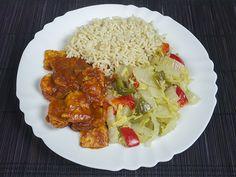 Chinese kool, paprika, rijst en vegan babi pangang | www.liefde-voor-veganisme.net